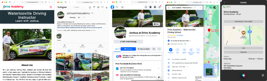 Examples of Great Driving School Marketing
